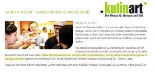 kulinart - Messe für Genuss und Stil @ Römerkastell, Phönixhalle | Stuttgart | Baden-Württemberg | Deutschland
